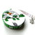 Tape Measure Flannel White Turtles Small Retractable Tape Measure