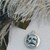 Vintage Beau Sterling Silver Comedy Tragedy Drama Mask Reversible Charm