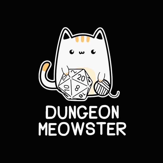 Dungeon meowster svg,Dungeon meowster png,Dungeon meowster design,Dungeon