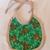 Baby bib, Gift for baby girl or boy, reindeer fabric, Gift for new mom, Shower