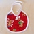 Baby bib, Gift for baby girl or boy, gingerbread man fabric, Gift for new mom,