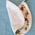Baby bib, Gift for baby girl or boy, poinsettia fabric, Gift for new mom, Shower