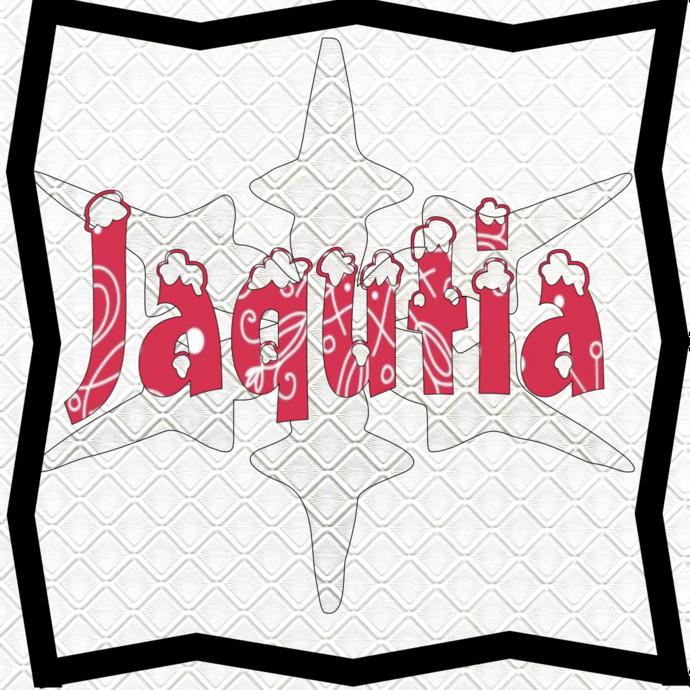 Jaqutia Name-Digital ClipArt-PNG-Art Clip-Gift Tag-Notebook-T