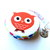 Measuring Tape Colorful Owls Retractable Pocket Tape Measure