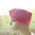 Turban Style Headband with Cupcake Button