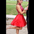 Fashion Halter Two Piece Prom Dress with Beads, Short Homecoming Dress