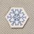 Magical Snowflake 4 pc set UNCUT