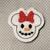 Magical Snowman Mouse 4 pc UNCUT Feltie