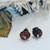 Vintage Artisan Crafted Sterling Silver Genuine Amber Stud Earrings
