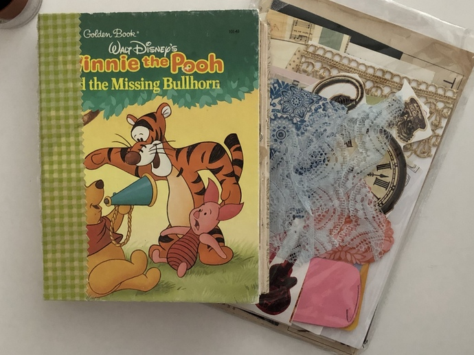 Winnie The Pooh - Hardcover Eclectic Journal