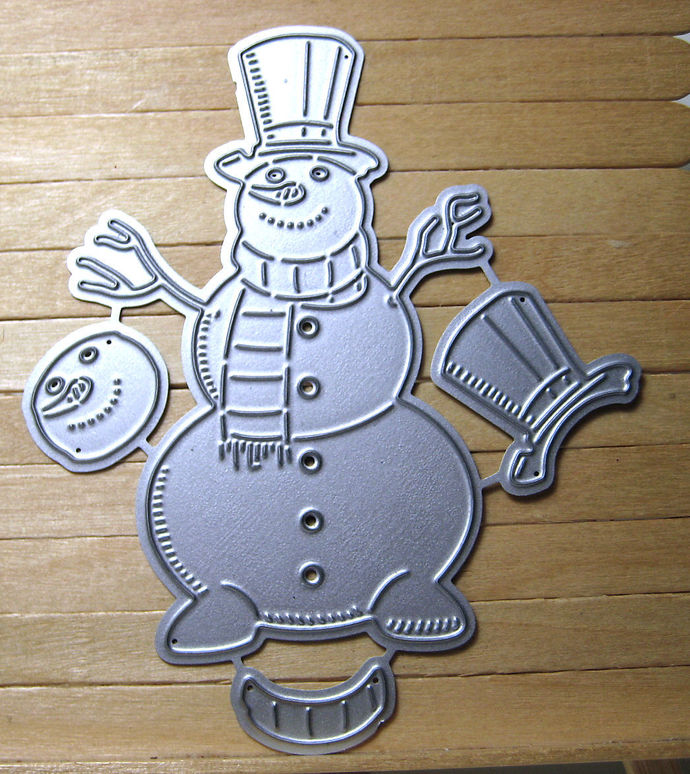 4pc Snowman Cutting Die Set
