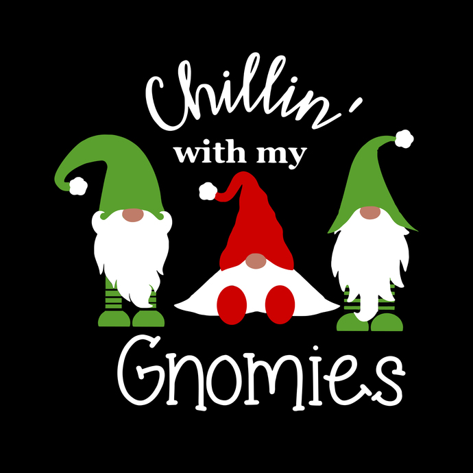 Gnome for the holidays svg,gnome png,gnome christmas t shirt,Chillin' with my