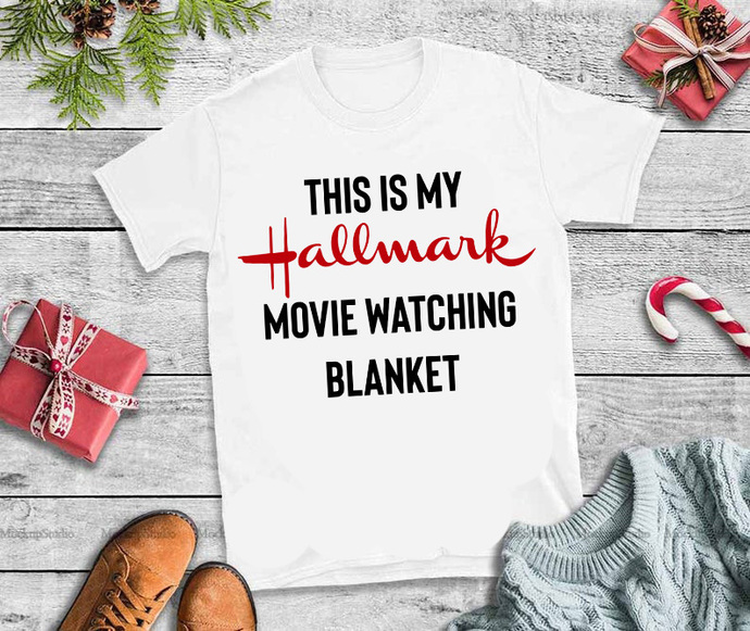 This is my hallmark christmas movie watching blanket svg,This is my hallmark