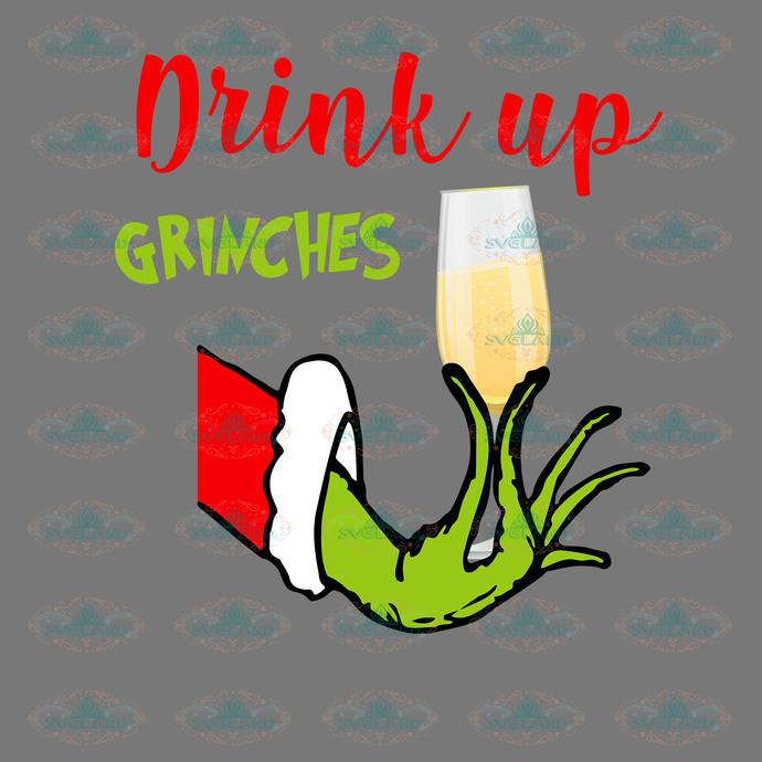 Drink up grinches, grinch, grinch svg, dr seuss, dr seuss party, dr seuss
