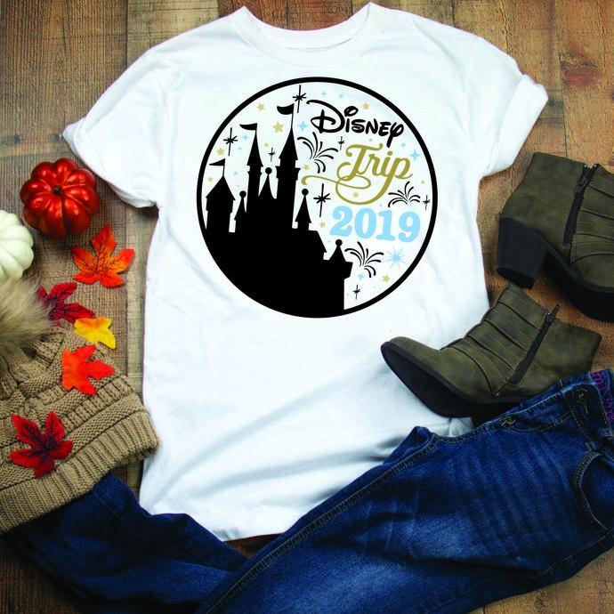 Disney Trip 2019, camping trip, disney, disney svg, disney town, disneyland,