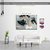 FREE SHIPPING - Pale Marbling Art, Marbling Canvas Wall Art CV33 Landscape
