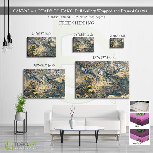 FREE SHIPPING - Various Colorful Contemporary Acrylic Arts, Canvas Wall Art CV41