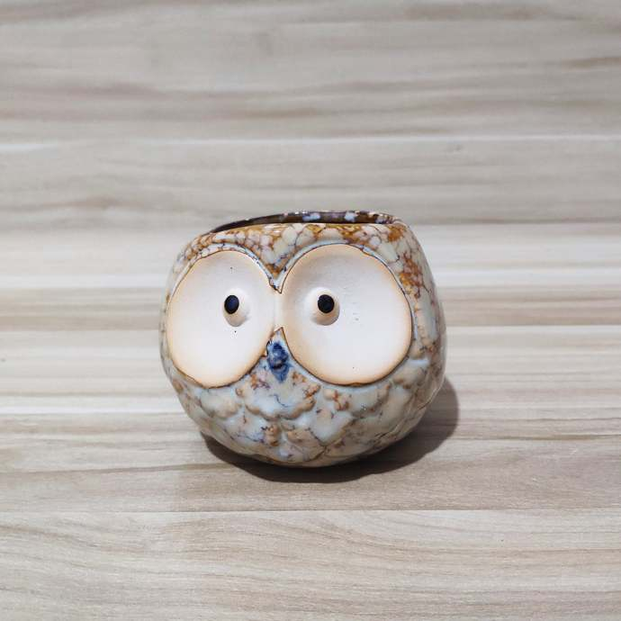 Cute Design owl pots for plants,Gift for Him, Gift for Her, Unique Planter