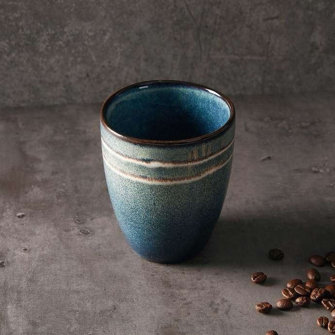 ceramic coffee mug,handmade cup,Vintage style pottery, hand-thrown stoneware