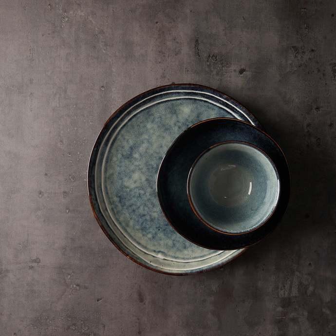 Copy of dinnerware Bowl Set  3-piece,Pottery handmade,Vintage style