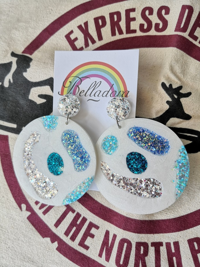 Abstract Baubles - Icey