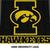 Iowa University Hawkeyes College Logo crochet graphgan blanket pattern; c2c;