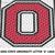 Ohio State University OSU Buckeyes Letter O Logo crochet graphgan blanket
