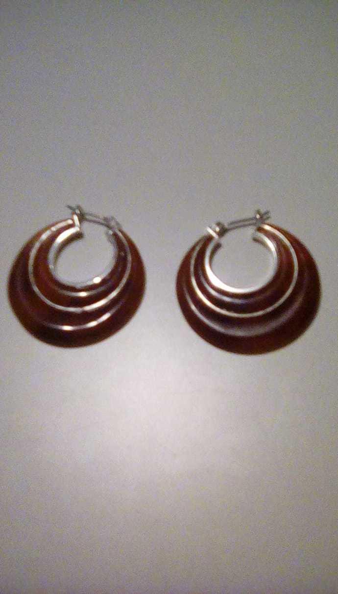 Vintage Circle Earrings
