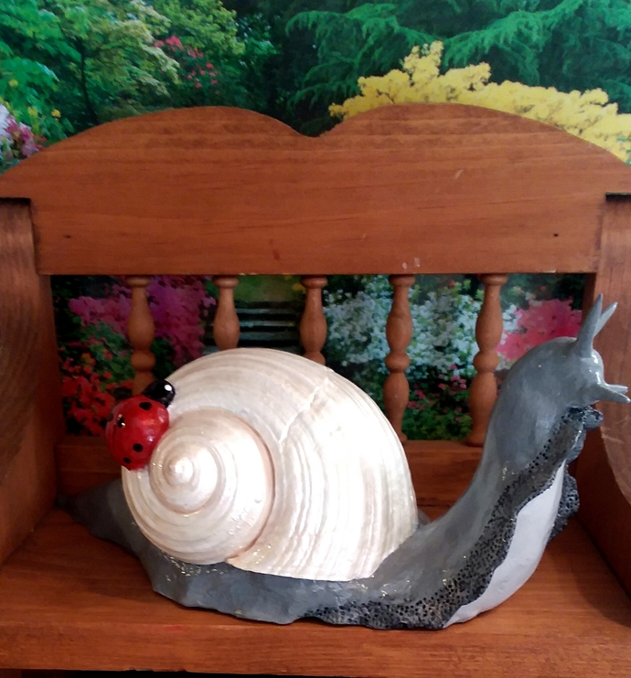 Garden Snail Figurine, Starlight the Garden Snail