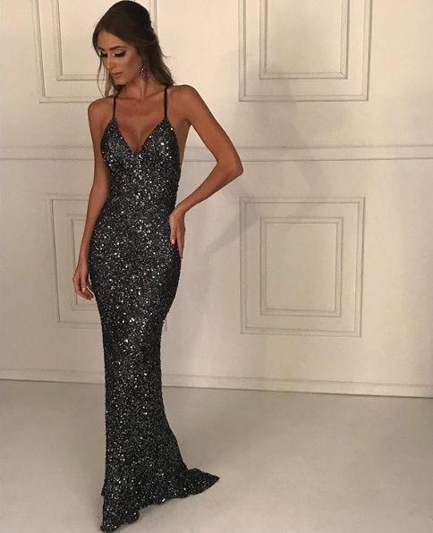 mermaid prom dresses fashion , long prom dress