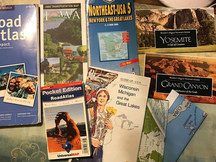 Maps and Road Atlas # 1