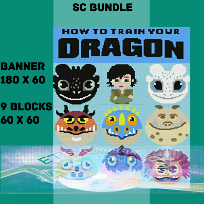 How to train your Dragon SC Bundle