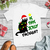 black cat christmas svg, Black cat Is this Jolly enough svg, black cat svg, Is