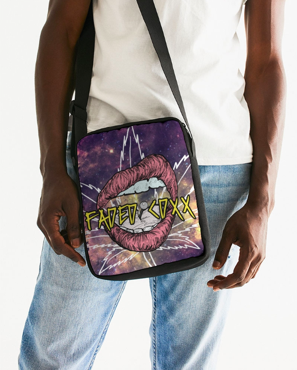Faded Galaxy Messenger Bag