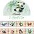 1 Roll Limited Edition  Washi Tape: Cute Panda