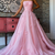 Pink tulle long prom dress pink tulle formal dress