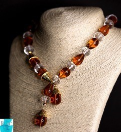 Ginger Necklace, Earring and Bracelet set