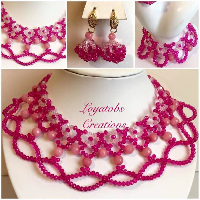 Sugar and Spice Necklace , Earring and Bracelet set