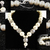 Large Pearl Necklace Set