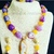 Purple Pebble Agate and Yellow Jade Set