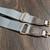 Customized LV grey bag strap - Louis Vuitton bag strap - upcycled LV bag strap -