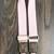 Customized Louis Vuitton pink bag strap - Louis Vuitton bag strap - upcycled LV