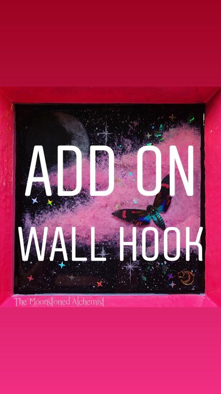 Add on wall hook
