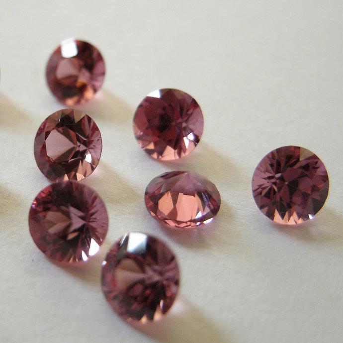 Garnet 4mm Faceted Gemstone FOR EIGHT