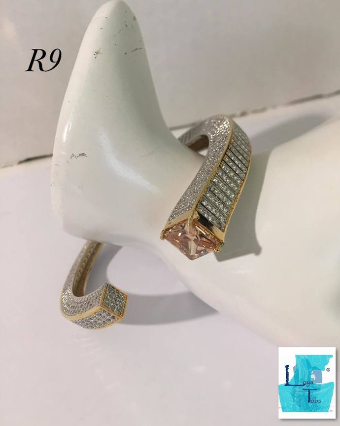 Campagne Cubic Zirconia Bangle