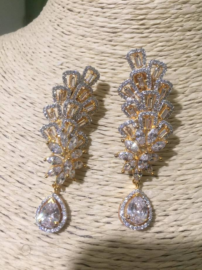 The White Tower Earrings