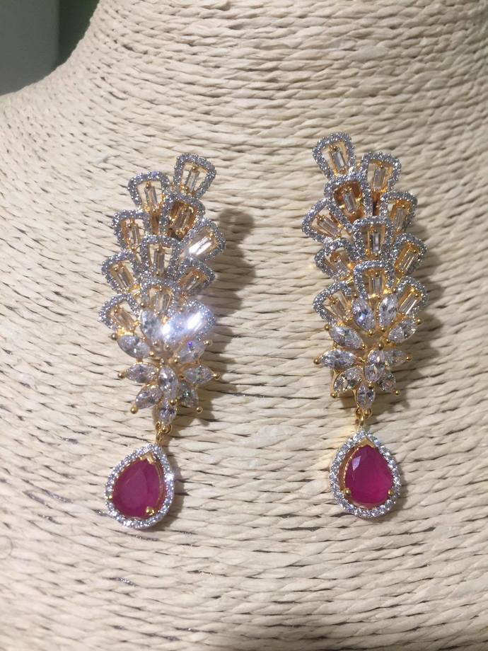 The Pink Tower Earrings