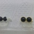 Choice  OF silver or yellow gold color CUFF LINKS with Black Onyx