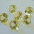 Lemon Quartz 5mm Faceted Gemstone Brilliant Cut FOR TWO