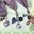 SWAROVSKI CRYSTAL Boho Gypsy Silk Sari Ribbon Bookmark PURPLE Book Readers Gift